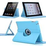 360 Degree Leather Rotating Smart Stand Case Cover For Apple iPad Air 4 3 2 mini