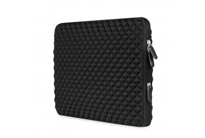 AMNIE shock-resistant Diamond Foam Splash & Shock Resistant Neoprene 15-15.6 Laptop Sleeve