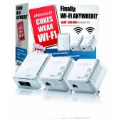 devolo dLAN 500 WiFi Network Range Booster Kit