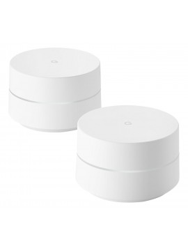 Google Wi-Fi Whole Home Mesh Network System - Pack of 2 hite