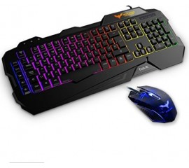 Havit Gaming Keyboard & Mouse Combi With Rainbow Backlight