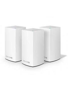 Linksys WHW0303-UK Velop Intelligent Tri-Band AC6600 Whole Home Wi-Fi Mesh Extenders - 3-Pack
