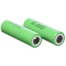 2x Genuine Rechargeable Samsung Vape Batteries - 8650 25R INR 3.7 2500mAh Rechargeable