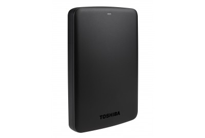 1TB Toshiba Canvio Basics Portable External Hard Drive 2.5 Inch USB 3.0 - Black - HDTB310EK3AA