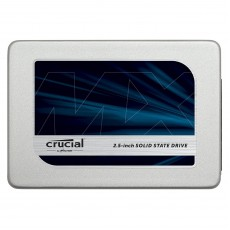 Crucial MX300 525 GB SATA 2.5 Inch Internal Solid State Drive with 9.5 mm Adapter - Grey/Blue Drive
