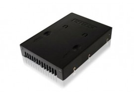 Icy Dock MB-882SP-1S-1B Black HDD Converter Converts 2.5