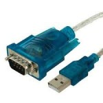 USB 2.0 to Male RS232 Serial DB9 9 Pin Adapter Cable