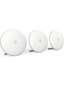Pack of 3 BT Whole Home Wi-Fi Network Mesh Pack for Seamless Wireless Coverage