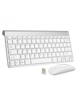 Wireless Mini Keyboard / Mouse Set for Mac & Laptops