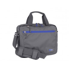 STM Swift 13 Inches Shoulder Carry Case Bag - Charcoal + Blue