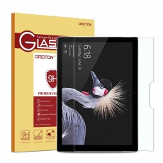 OMOTON Microsoft Surface Pro 4 Screen Protector / Tempered Glass / 9H Hardness & Easy Installation