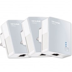 TP-Link AV500 Nano Powerline Adapter WIFI Booster | Home Network Plug