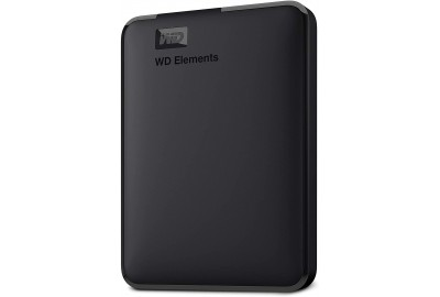1TB WD Elements Portable External Hard Drive, USB 3.0
